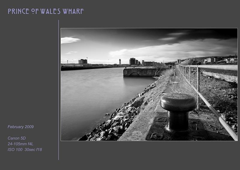 PoW wharf - Swansea SA1