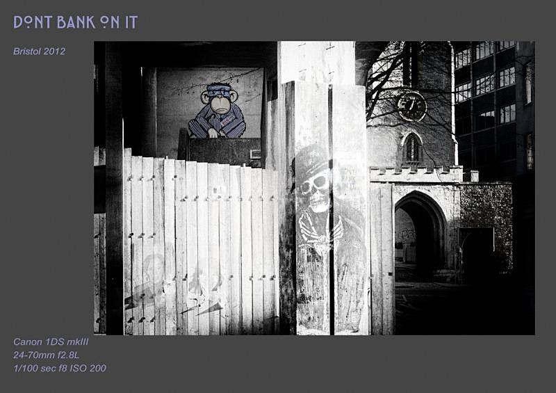 dont bank on it - Street Art & Graffiti