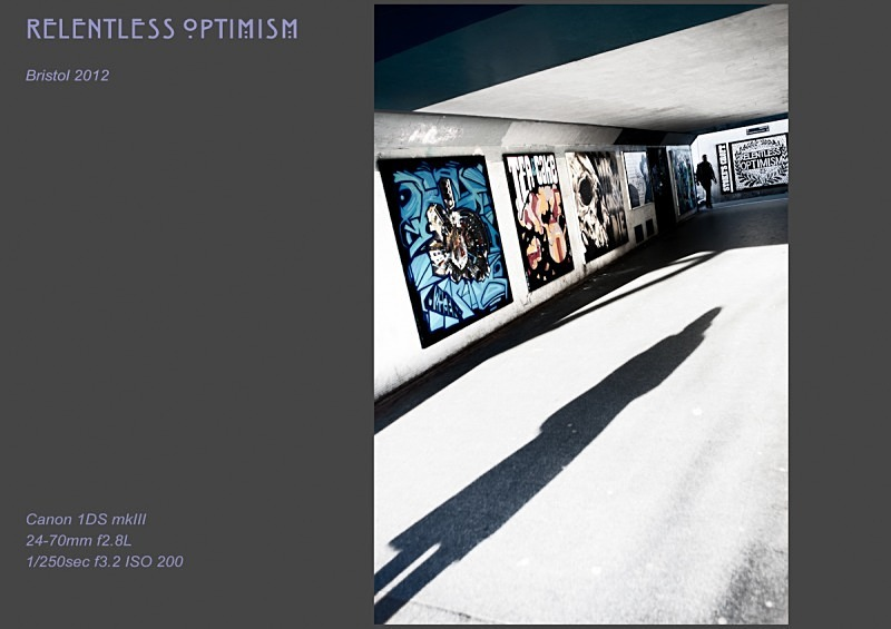 relentless optimism - Street Art & Graffiti