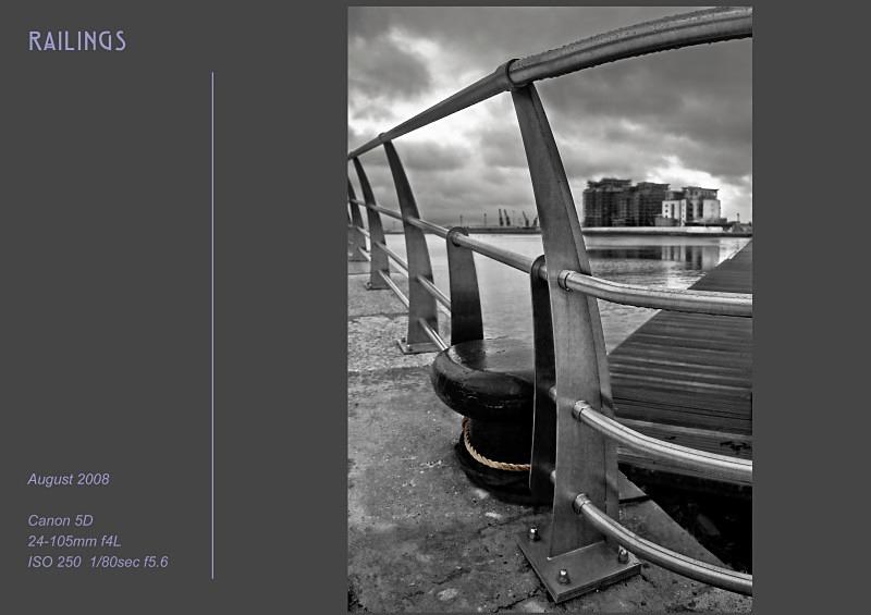 railings - Swansea SA1