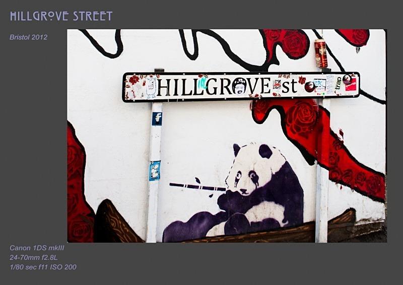 Hillgrove St - Street Art & Graffiti