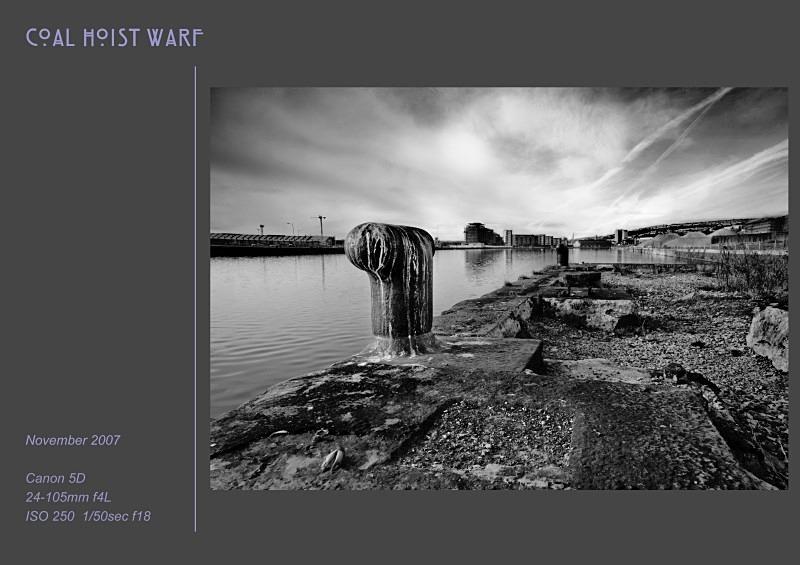 coal hoist warf - Swansea SA1