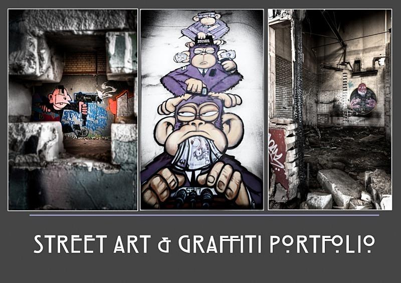 grafitti portfolio - Street Art & Graffiti