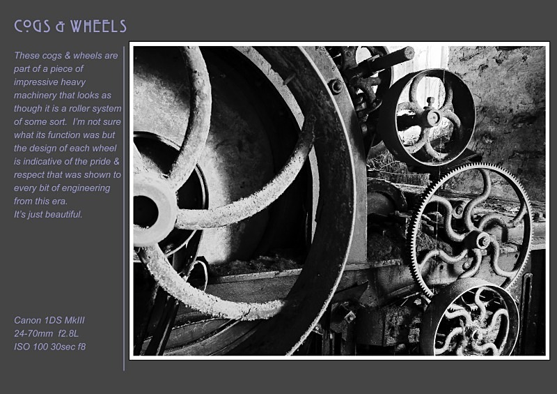 cogs and  wheels - Abandoned & Discarded