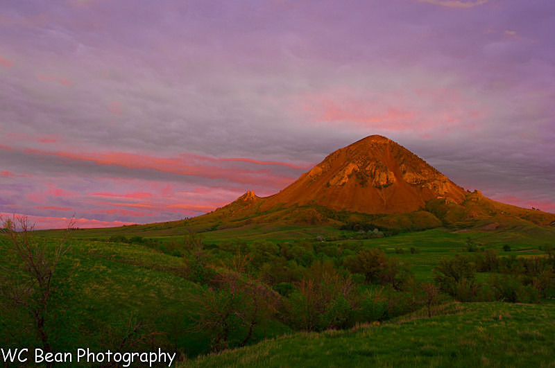 Bear Butte Sunset - Favorite Images of 2013