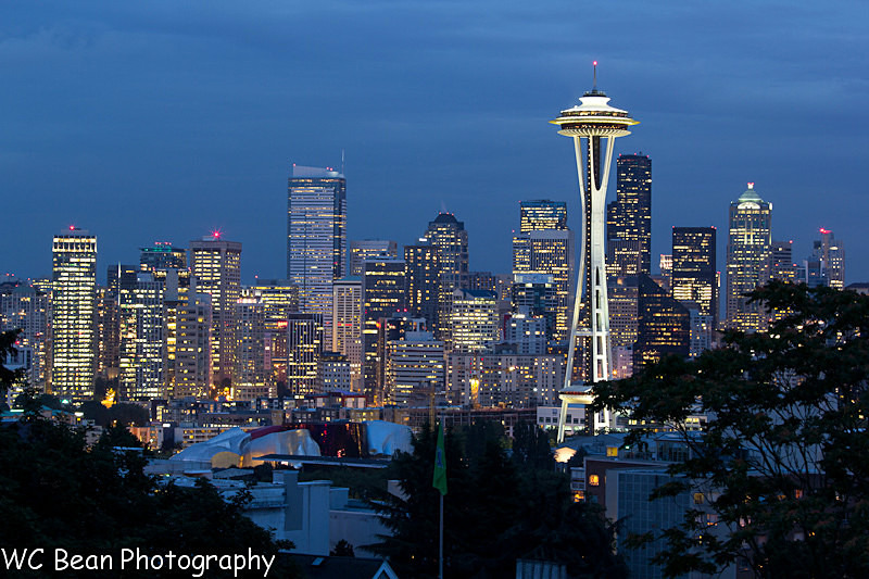 Seattle Twilight - Favorite Images of 2013