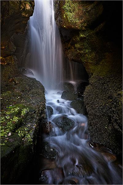 Hidden Falls - The Isle of Eigg