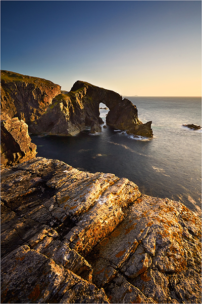 The Sea Arch - The Outer Hebrides