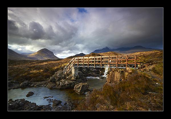 Crossing The Allt - Isle of Skye