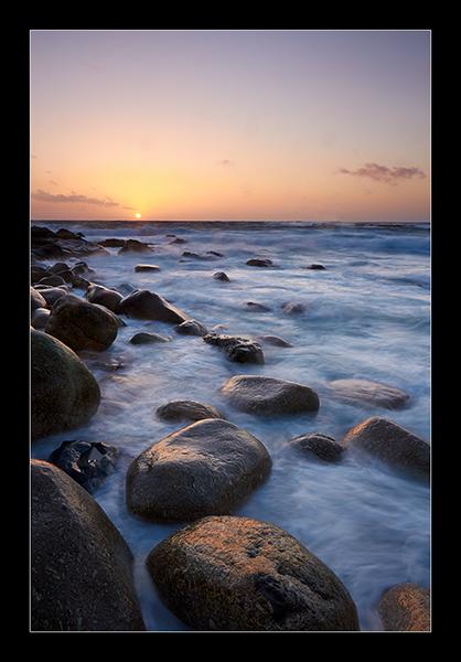 The Setting Sun - Cornwall