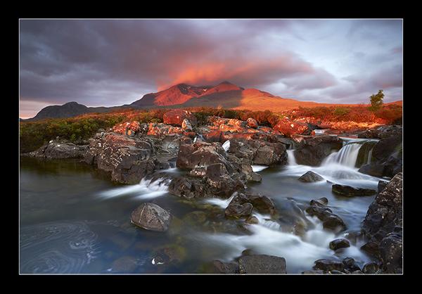 Fiery Cuillin - Isle of Skye