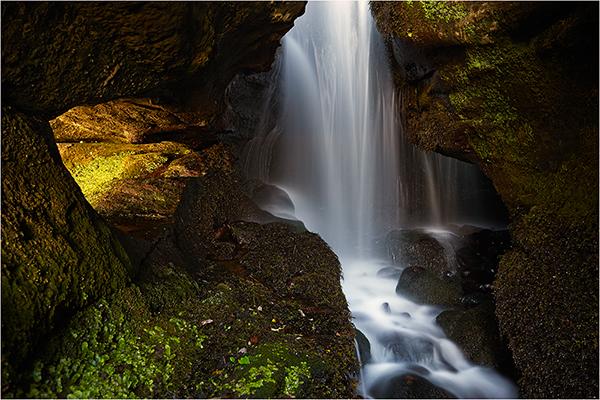 Eigg Falls - The Isle of Eigg