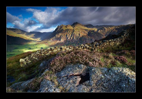 Rocks and Heather - Cumbria