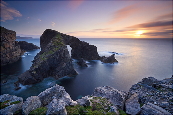 Sunset Arch - The Outer Hebrides