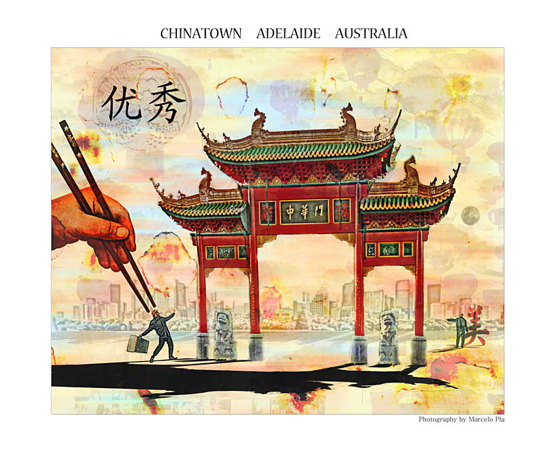 'Chinatown' - ''My own trip''  Adelaide