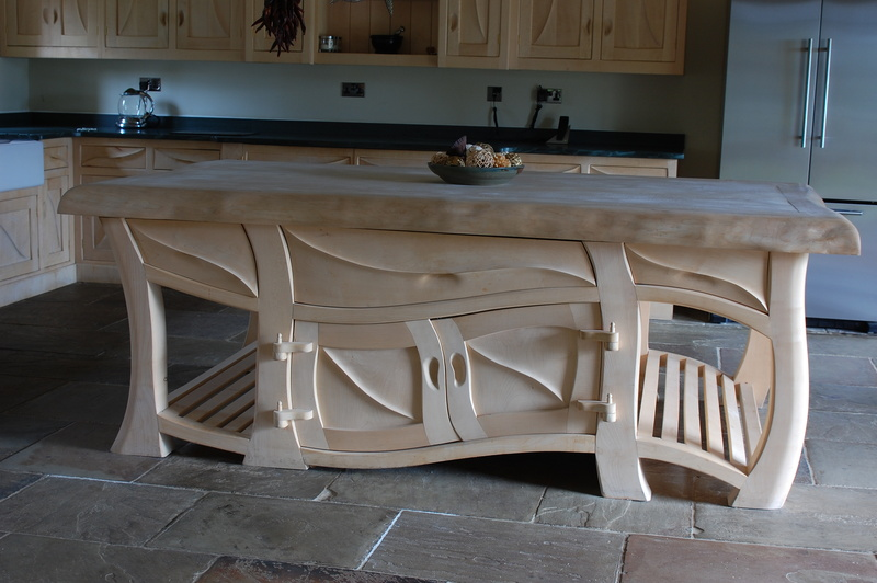 Unique Handmade Kitchen Islands