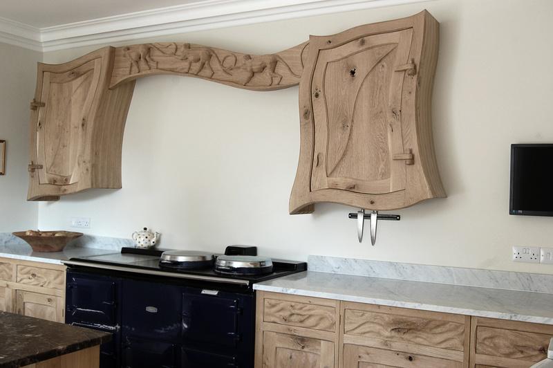 Eccentric Kitchens, Unconventional Kitchen Furniture, Kitchen Commissions.
