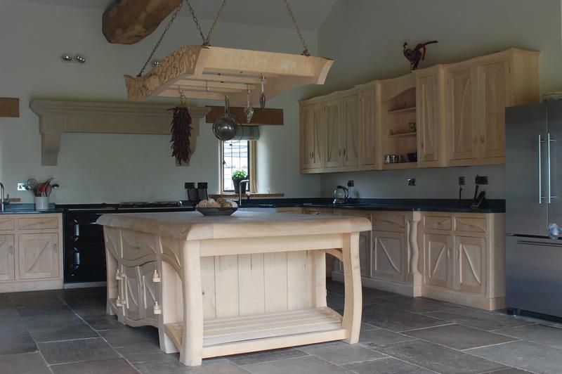 Unusual handmade kitchens handmade kitchens bespoke for Handmade kitchens