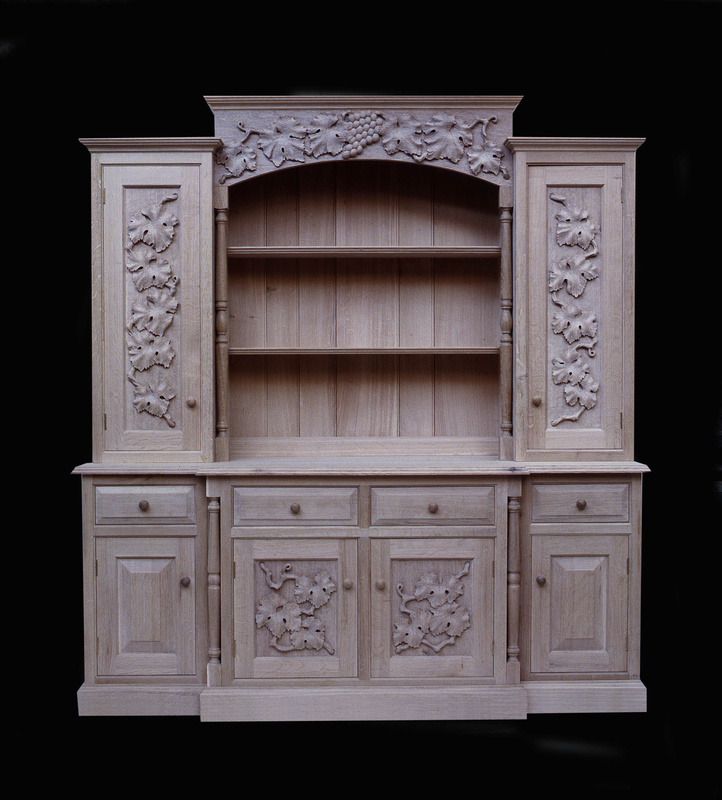 Handmade Kitchens, Kitchens by Hand, Real Handmade Kitchens, Solid Oak Dresser, Country Kitchens, Handmade Kitchens Cheshire, Bespoke Kitchens London