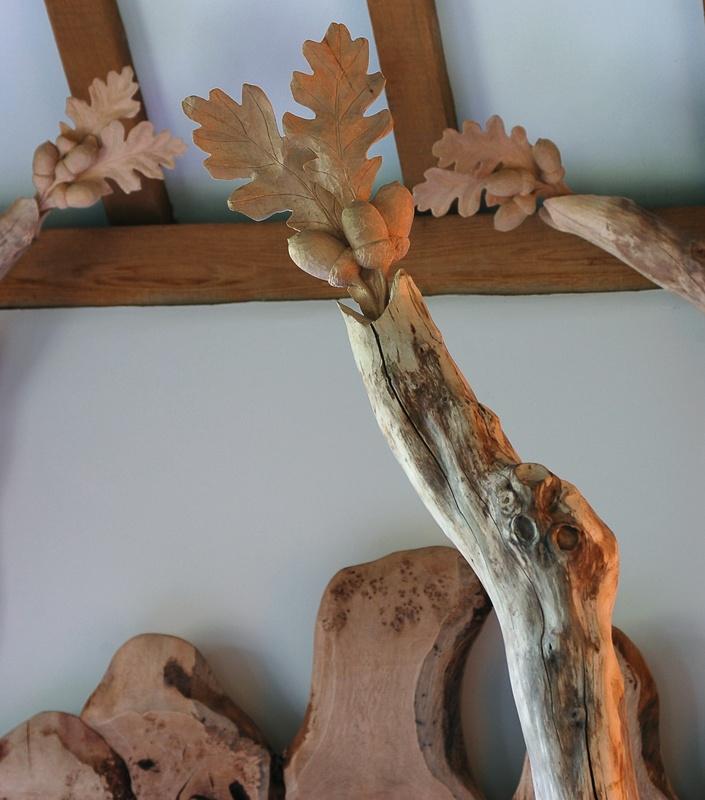 Handmade wooden beds, Bespoke handmade beds, Oak four poster bed, Carved bespoke bed, Wood beds Kent.