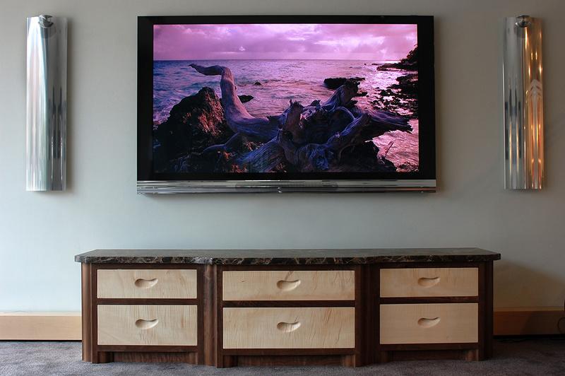 Bang & Olufsen, Bespoke T.V. Cabinets, Handmade Bespoke Furniture, Specialist Bespoke Design
