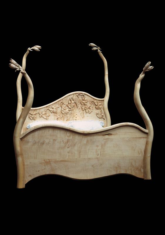 Handmade bespoke beds, Surreal bespoke furniture, Bespoke bedroom furniture Hampshire, Alternative bespoke furniture