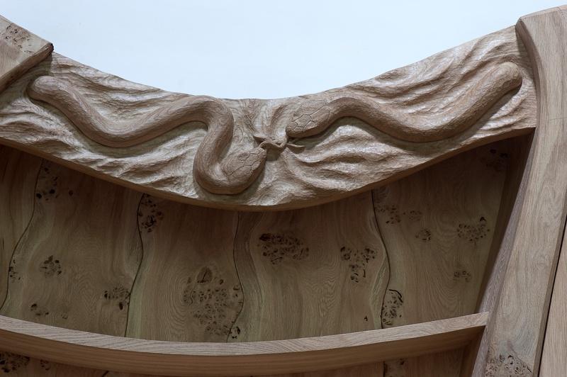 Hand Carved Kitchens, Bespoke carved kitchens, Highly detailed kitchens.