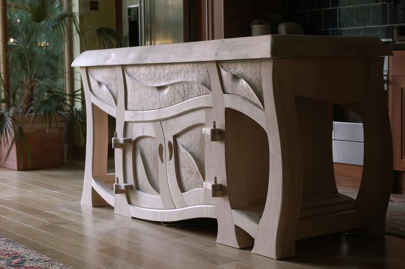 Naturalistic bespoke kitchens bespoke furniture design for Bespoke kitchen design