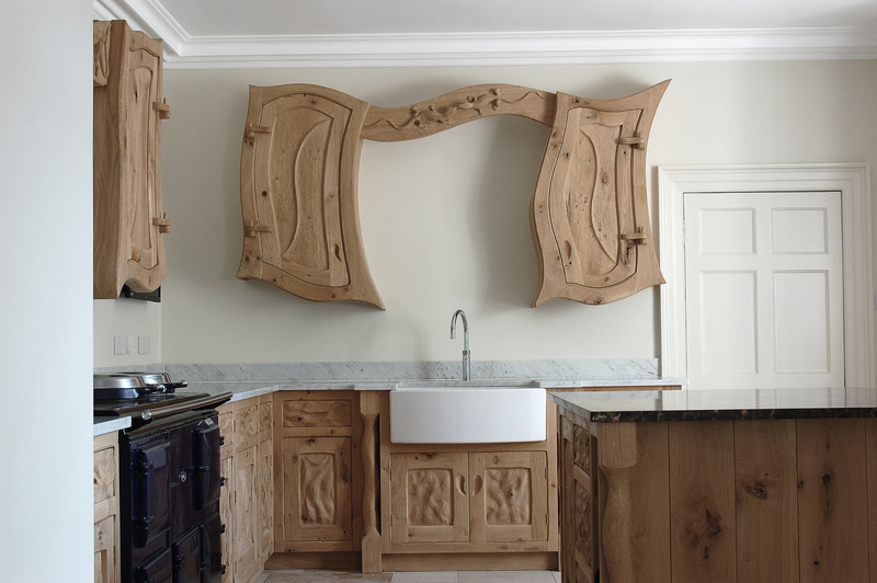 Imaginative Kitchen Design, Surreal Kitchen Design, Unconventional Kitchen Furniture,