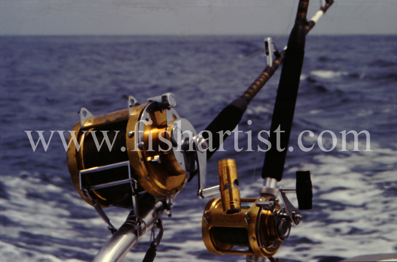 Big Game Reels. - Marlin Fishing.