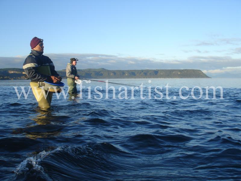 C.O. & Erie. - Fishermen of Taupo.