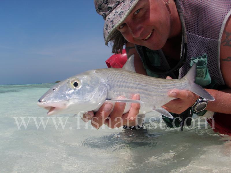 Bonefish in the Hands 2010 - Bonefishing 2010.