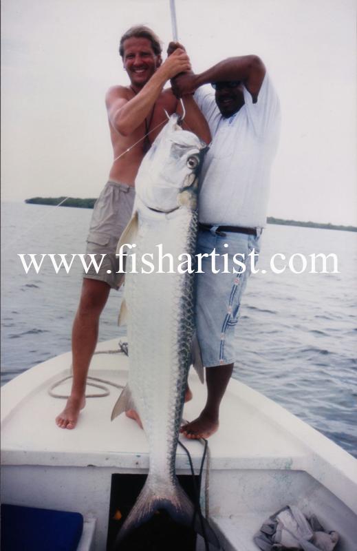 Tarpon - Belize. - The Fish Trophy Room.