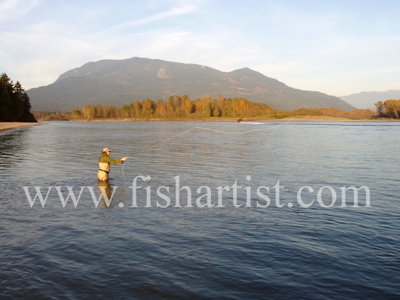 Salmon Fishing. - Sturgeon of the Fraser River.