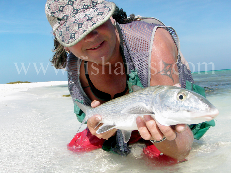 Beach Bonefish 2010. - Bonefishing 2010.