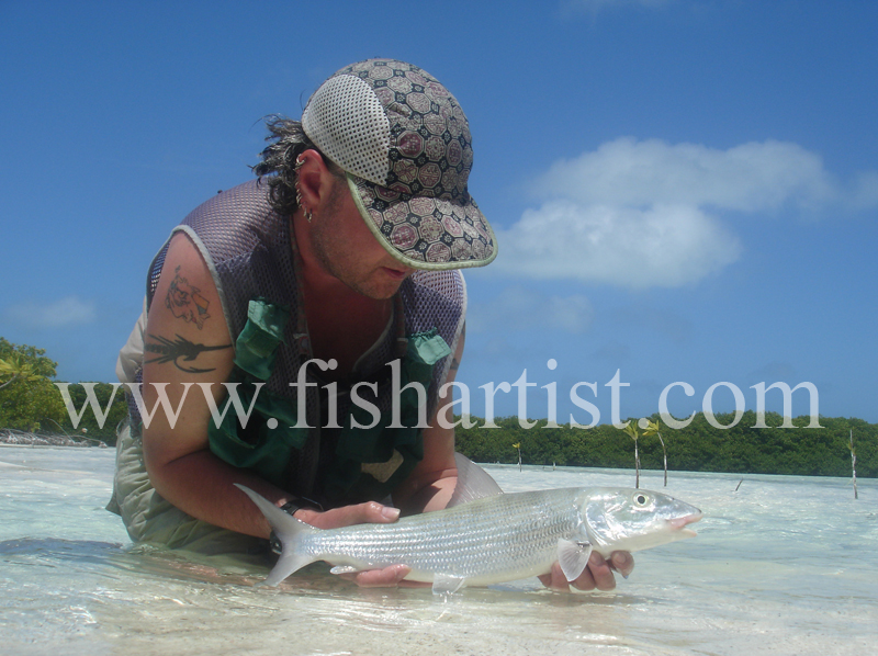 Bonefish Photo - Lagoon Trophy Shot. - Bonefish & Tarpon.