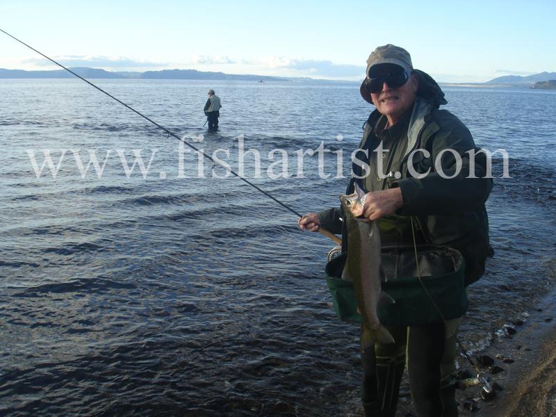 Fran. - Fishermen of Taupo.