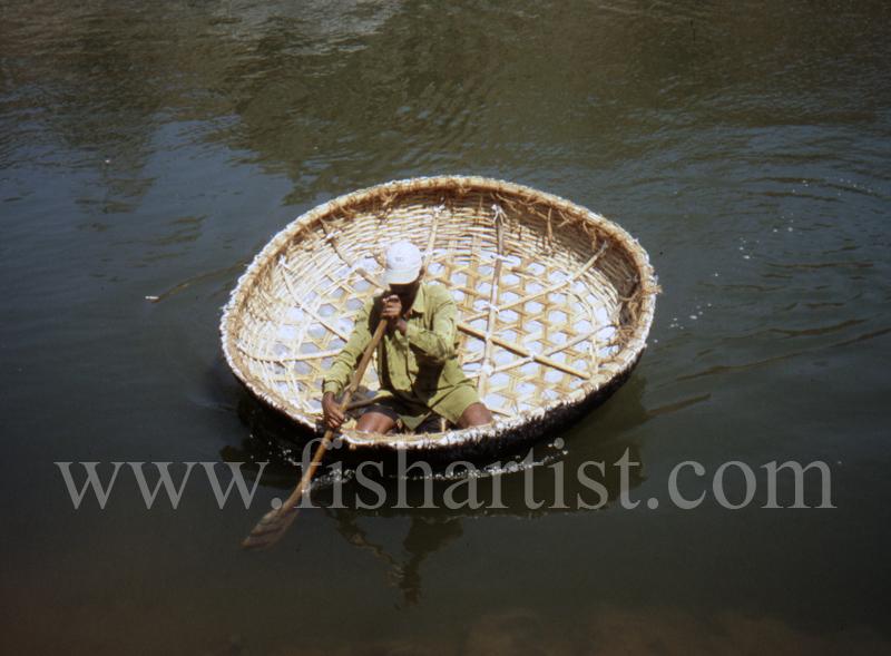 Mahseer Fishing Coracle. - Mahseer Fishing India.