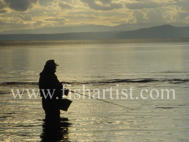 Dave. - Fishermen of Taupo.