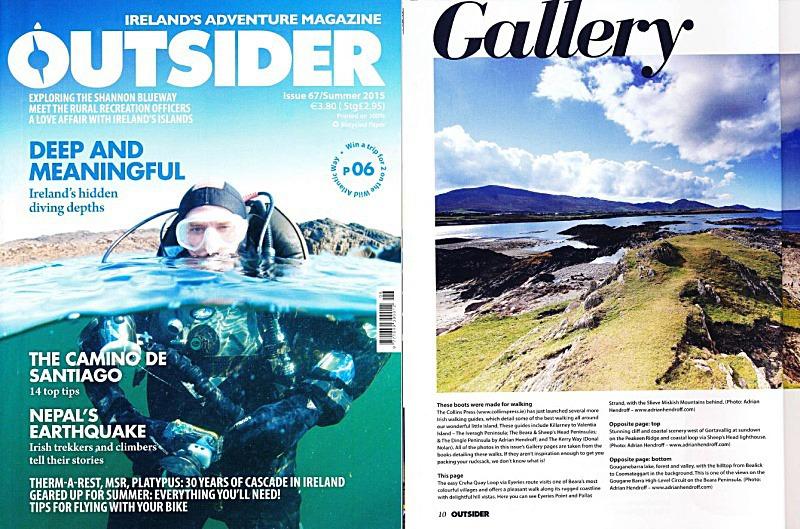 Mountaineering Ireland Explore Adrian Hendroff Hillwalking Outsider Magazine