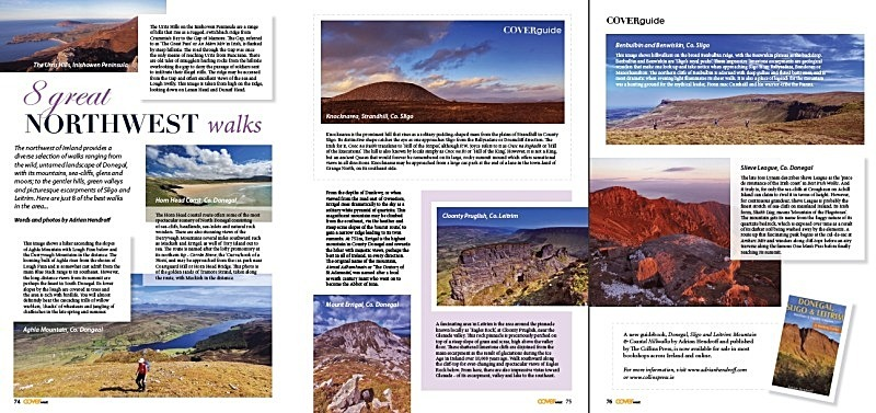 '8 Great Northwest Walks' - Cover West Magazine, Summer 2012 - In the media