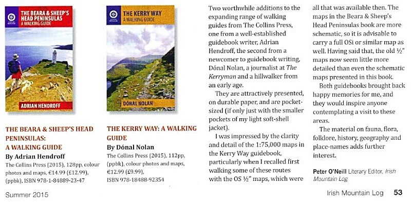 Mountaineering Ireland Explore Adrian Hendroff Hillwalking