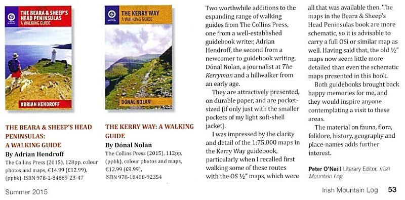 Mountaineering Ireland Explore Adrian Hendroff Hillwalking