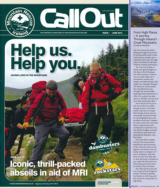 From High Places review - Call Out magazine - June 2012 - In the media
