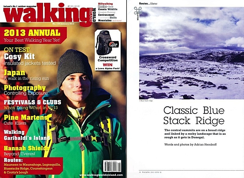'Classic Blue Stack Ridge' - Walking World Ireland No.110 - In the media