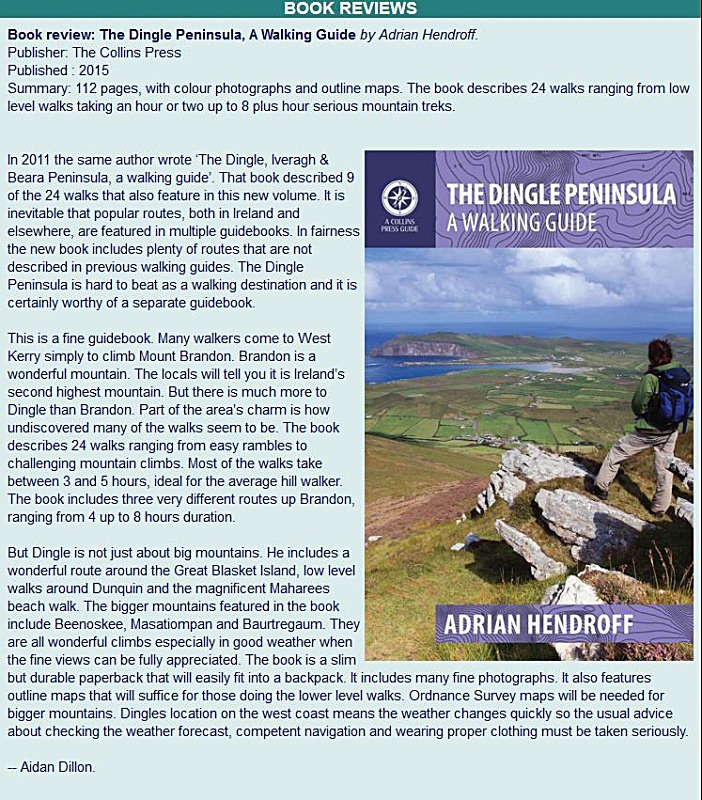 The Dingle Peninsula - Mountain Views Review - May 2015 Adrian Hendroff Wild Atlantic Way