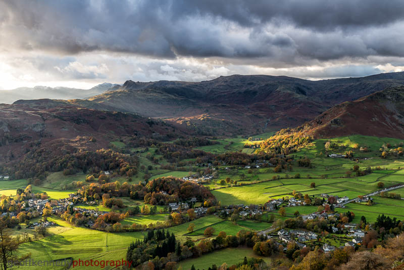 Grasmere from Grey Crag - Lake District
