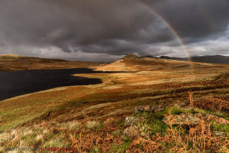 Rainbow over Devoke Water - Lake District