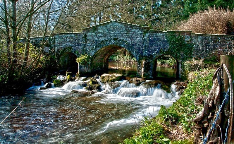 Old Park Bridge, Dunster - TRAVEL: Exmoor UK