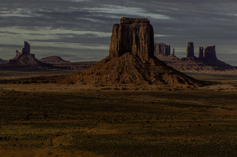 Night Cometh - Monument Valley